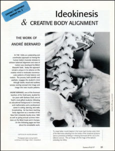 Ideokinesis & Creative Body Alignment