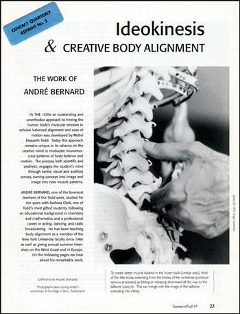 Ideokinesis & Creative Body Alignment