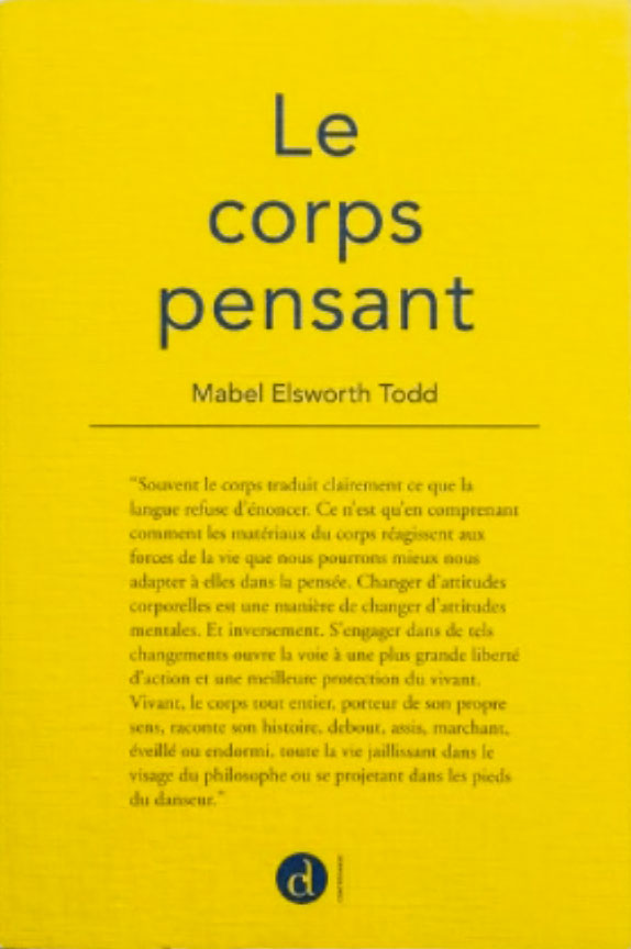 Le Corps Pensant (French) by Mabel Elsworth Todd